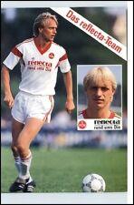 Joachim Philipkowski Fussball 1. FCN Nürnberg Porträtkarte Sponsor Reflecta
