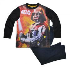DISNEY pyjama garçon STAR WARS noir et bleu 4 6 8 ou 10 ans Dark Vador NEUF