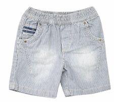 Bermuda short Jeans rayures bleu blanc bébé IKKS  X32504140 taille 3 Mois