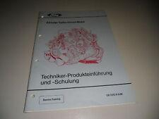 Technische Information Ford 2,5 Turbo Diesel Motor 1988