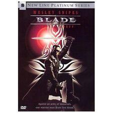 Blade (1998, DVD) Wesley Snipes ~ New Line Platinum Series ~ Vampire Rated R