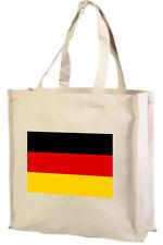 BANDIERA TEDESCA Cotone Shopping Bag, scelta della taglia e colori!