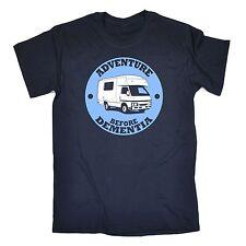 Adventure Before Dementia Caravan T-SHIRT campervan motorhome birthday gift 123t