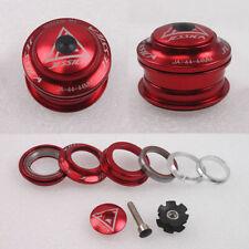 """UK 44mm Bike Sealed Bearings Headset 1-1/8"""" MTB Road Bicycle Fork Steerer Parts"""