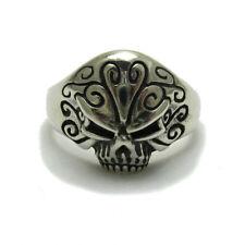 Sterlingsilber Ring massiv 925 Totenkopf r001748 Empress