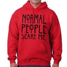Normal People Scare Me Horror TV Show Gift Hoodies Sweat Shirts Sweatshirts