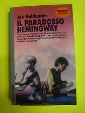 HALDEMAN IL PARADOSSO HEMINGWAY EDIT.NORD 1992