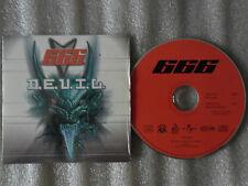 CD-666 DEVIL-WHAT THE HELL MIX-T. Detert-M.Griesheimer-(CD SINGLE)- 2000-2 TRACK