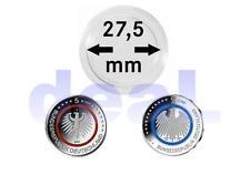 LINDNER Münzkapseln Münzenkapseln für 5 € Euro 27,5mm - 50 oder 100 Stück