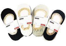 3 LADIES INVISIBLE H&N TRAINER  FOOTSIES PUMP SOCKS UK SIZE 35-38 (UK 3-6)