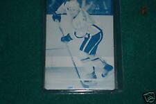 2008-09 UD DAYMOND LANGKOW CYAN PRINTING PLATE NHL UDS1