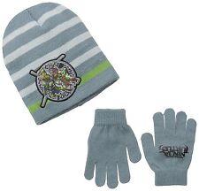 Teenage Mutant Ninja Turtle Beanie Hat Cap Gloves Set One Size Fits Boy 5 to 8