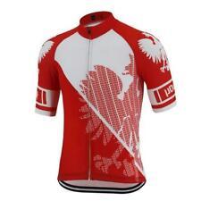 Cycling Short Sleeve Jersey Poland Polish Polska Cycling Jersey