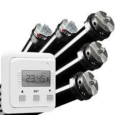 Rolladenmotor Rohrmotor Rollladenmotor Antrieb + Steuerung Zeitschaltuhr Timer