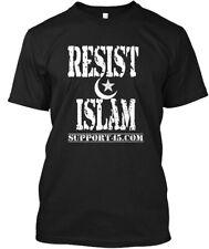 Resist Islam Gear - Support45.com Hanes Tagless Tee T-Shirt