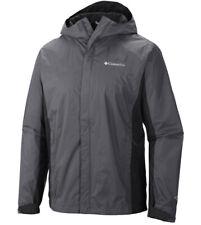 "New Mens Columbia ""Watertight II"" Omni-Tech Packable Rain Wind Jacket"