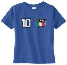 Threadrock Baby Team Italia Soccer Infant T-shirt Italy Italian Football