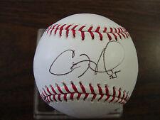 Cole Hamels---Autographed Baseball
