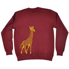 Giraffe SWEATSHIRT Design Africa Animal SWEATSHIRT Jumper Funny Gift Birthday