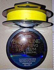 Sport Fisher Fishing Braid (Masterline) - Yellow /Chartreuse - 150yd/137m Spool