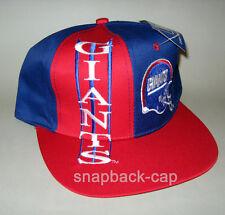 N.O.S Vintage Snapback Cap Casquette New York Giants NFL, foot US Cap Hat