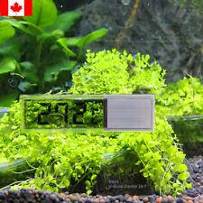 Aquarium Fish Tank Thermometer Digital Temperature LCD 3D Crystal Stick On