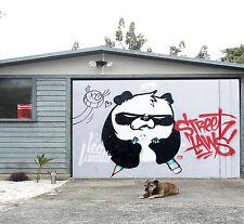 3D Graffiti Panda Garage Porta Stampe Parete Decorazione Murale AJ WALLPAPER IT