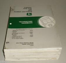 Werkstatthandbuch John Deere Traktor 7610 / 7710 / 7810 Stand 04/1998