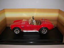 ERTL 1/18 1966 Shelby Cobra 427 1/4 Mile 12.2 Sec. MIB