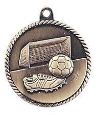 Soccer Medal Award Trophy With Free Lanyard HR745 School Team Sports