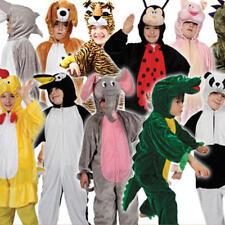 ANIMAL Kids Costume Libro Settimana Halloween PASQUA NATALE Ragazzi Ragazze Costume