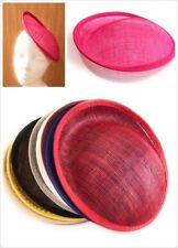 20cm Round Sinamay Dipped Fascinator Base Hat Millinery DIY Supply Wholesale UK