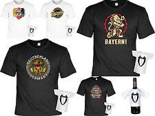 Cooles Geschenk Set T-Shirt + Minishirt - Patrioten - Deutschland / Bayern Motiv