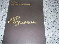 1974 Ford Mercury Capri Service Shop Repair Workshop Manual FACTORY OEM 74 RARE