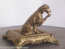 ancien chien en bronze 19èmes