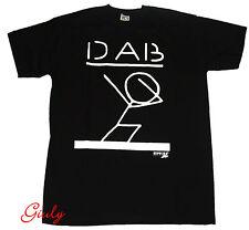 T-shirt maglia simpatica DAB maglietta da 7 anni a XXL nero movida uomo donna