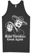 Make Tuesdays Great Again Men's Tank Top Donald Trump Taco