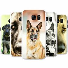 German Shepherd Dog Snap-on Hard Back Case Phone Cover for Samsung Mobile Phones