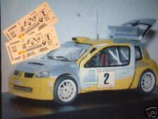 DECAL CALCA 1/43 RENAULT CLIO S1600 J.M. MEMBRADO RALLY 2000 VIRATGES 2003