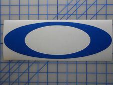 "Large Oakley ""O"" Logo Decal Sticker 17"" 23"" Sunglasses Golf Vault Polarized"