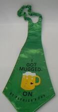 """St. Patrick's Day  31"""" Jumbo Neck Tie; 3- Styles"""