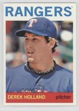 2013 Topps Heritage #171 Derek Holland Texas Rangers Baseball Card