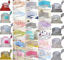 250 variations -2/3/5 pcs bébé Ensemble de literie Fit pour bébé 120x60cm ou pour lit bébé 140x70