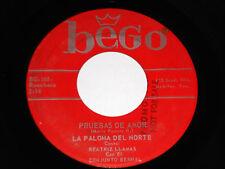 LA PALOMA DEL NORTE Regalo de Reyes 45 VG+ Pruebas Amor PROMO Bego BG-166