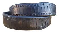 Cintura 3,5 cm in cuoio di toro lavorata a mano