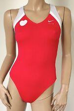 nike swim * sportlicher Damen Badeanzug Swimsuit * Modell EWD2035 * rot * NEU