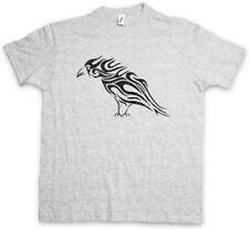 TRIBAL Raven T-shirt Celti Celtico religione simbolo cultura Tatuaggio tipo Corvo