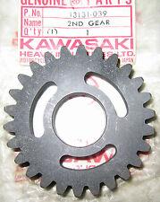1973 Kawasaki F11M Output Shaft 2nd Gear 26T NOS 13131-039