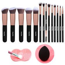 16 pcs Kabuki Make up Brushes Set Eye shadow Blusher Face Powder Foundation