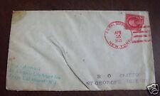 Rare 1925 cover Zepplin Airship Los Angeles Bermuda